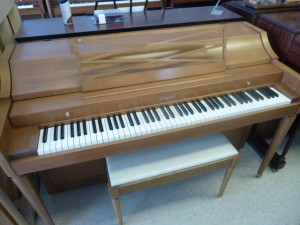 "SORRY RENTED 1954 Baldwin 36""  spinet"