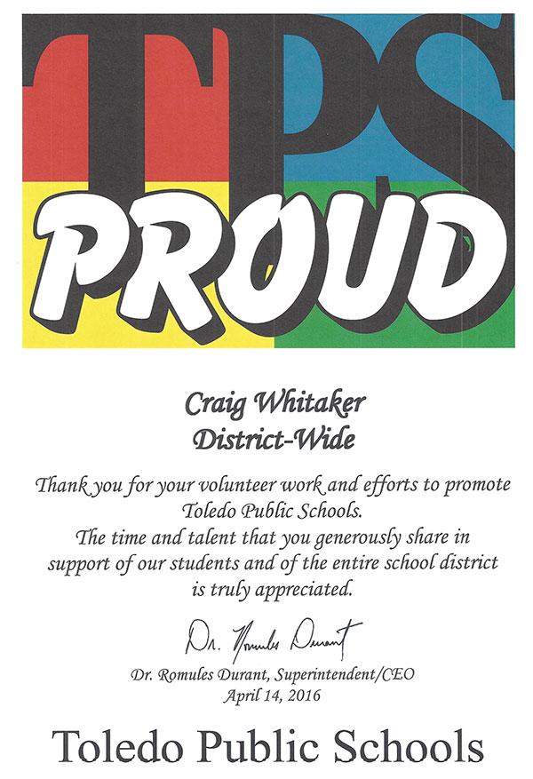 Toledo Public Schools Proud